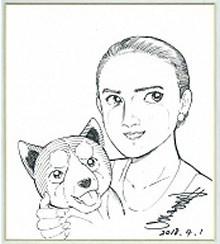ザギトワの秋田犬