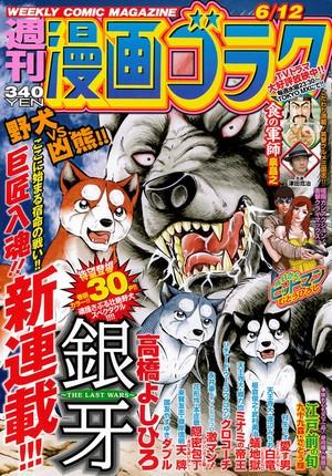 週刊漫画ゴラク6月12日号